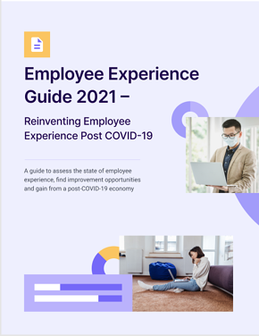 Employee experience Guide Cover  2021