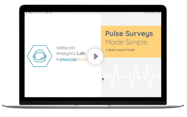 video webcast Pulse Surveys